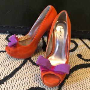 Quipid high heel shoes